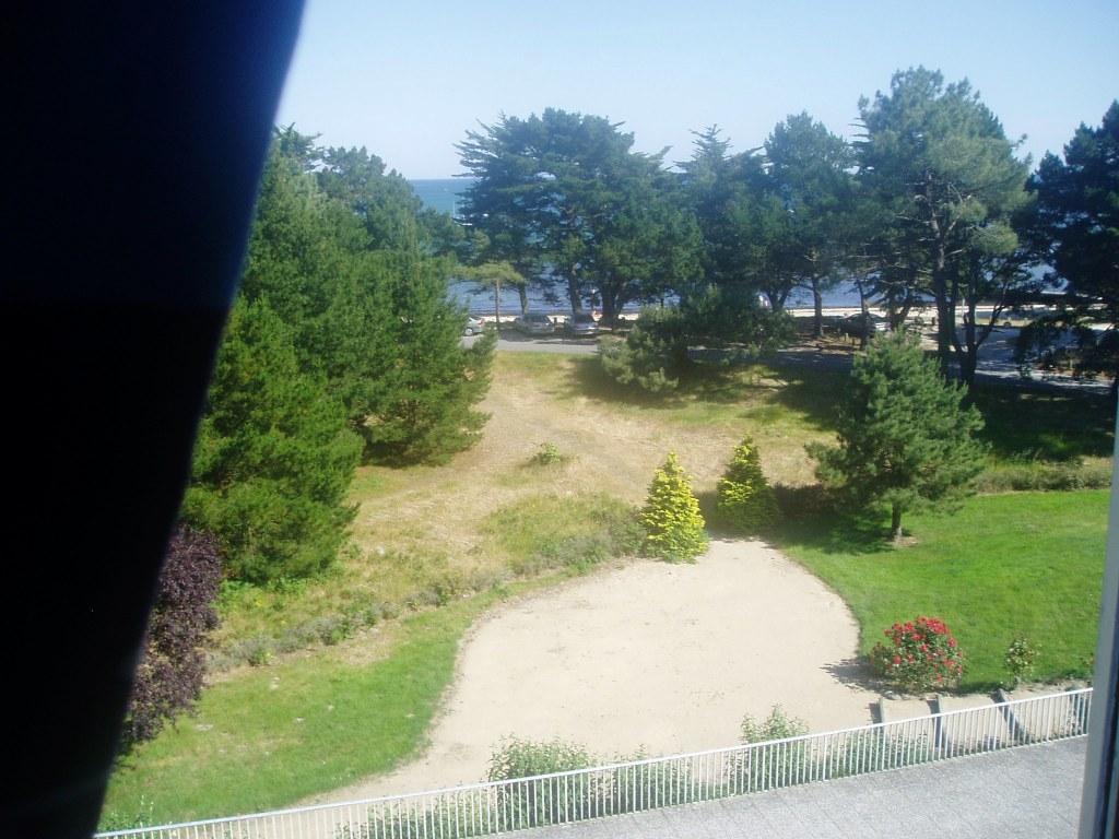 La vue à partir du balcon